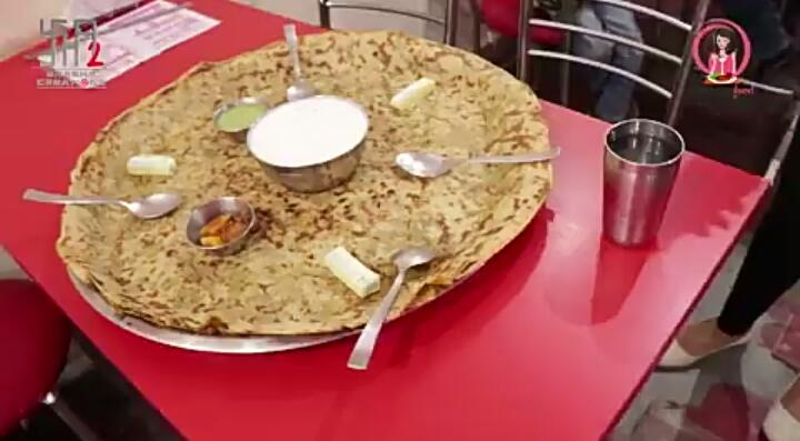 India's Biggest Parantha!