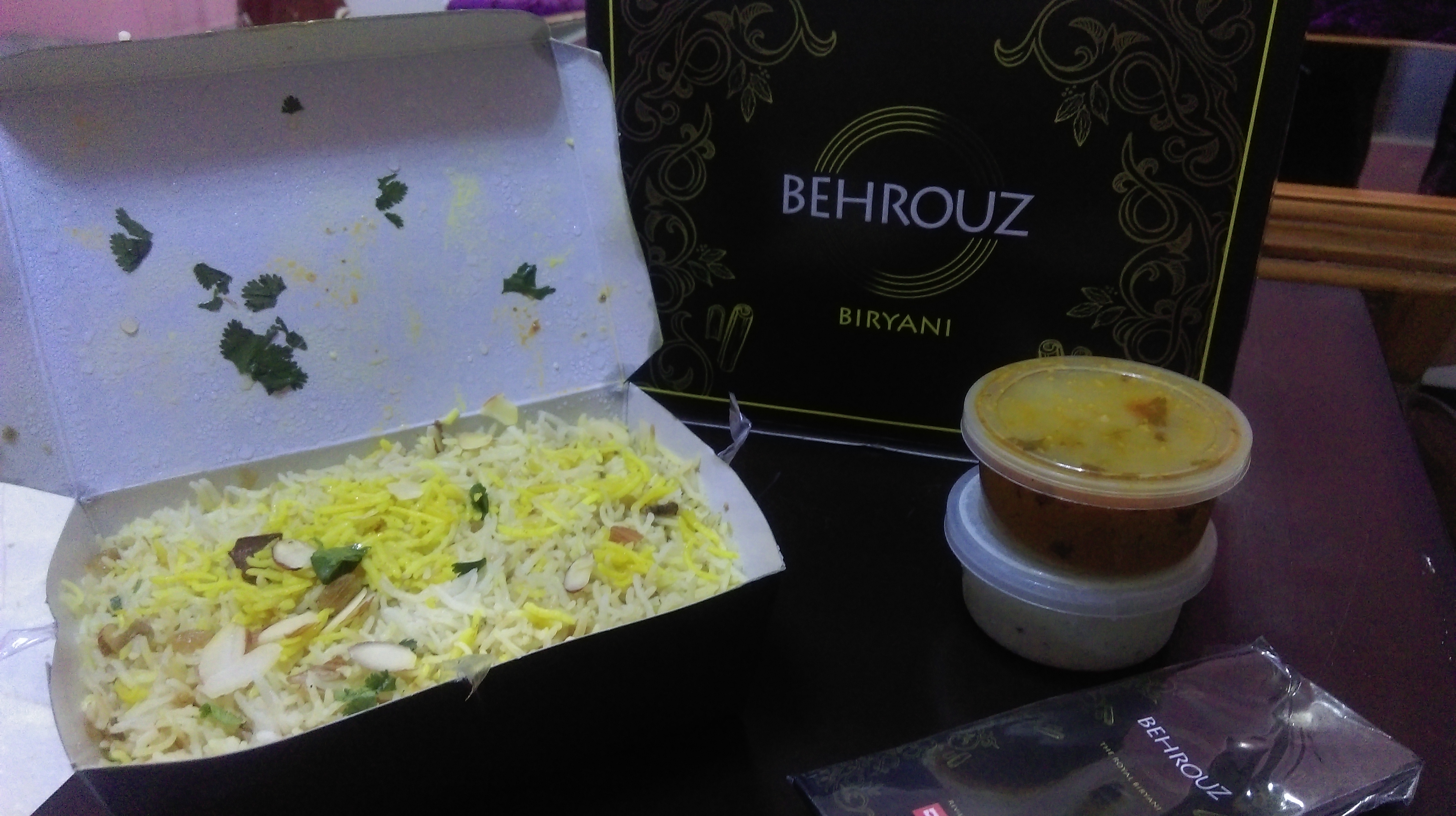 Behrouz Biryani : Delivers Delicious Hot Biryani At Your Doorstep